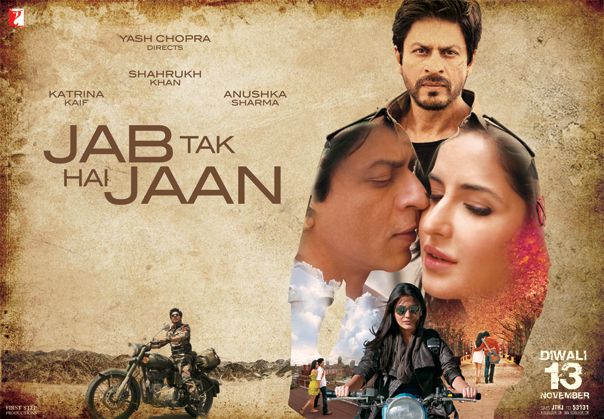 Photo Credit http://urbanasian.com/bollywood/2012/09/jab-tak-hai-jaan-trailer-is-signature-yash-chopra/