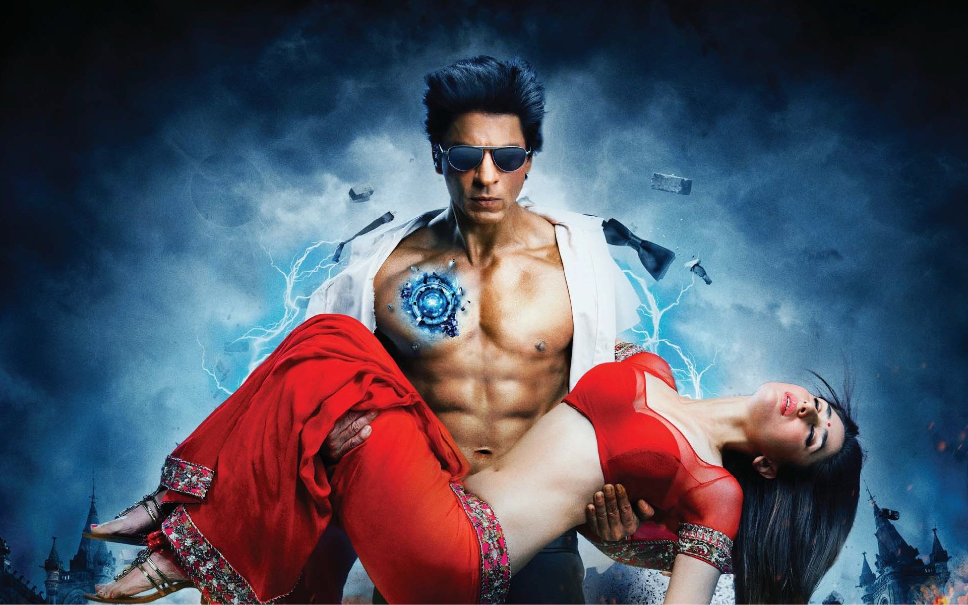 Photo Credit https://cultureatkamelia.wordpress.com/2011/11/19/ra-one-bollywood-transforms-from-lovers-to-superheros/