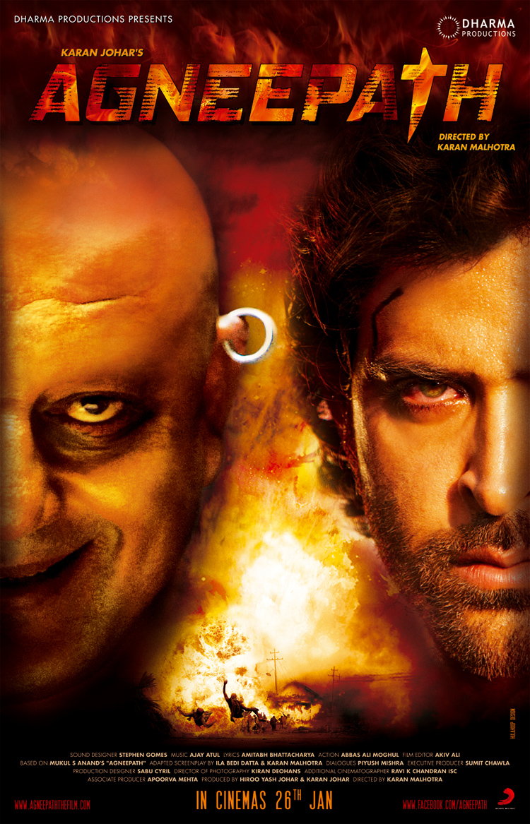 Photo Credit http://roochster.com/2012/01/agneepath-movie-review/agneepath-poster/