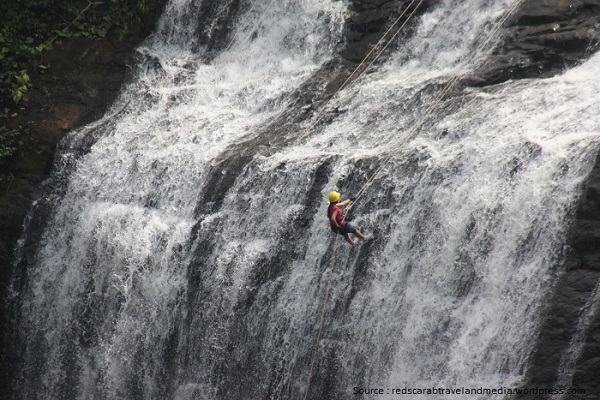Photo Credit http://www.adventureclicknblog.com/articlepage.php?title=Rappelling-at-Elephant-Falls,-North-East,-Shillong,-Meghalay261