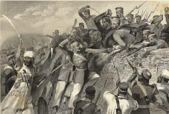 Photo Credit http://www.kamat.com/kalranga/itihas/1857.htm