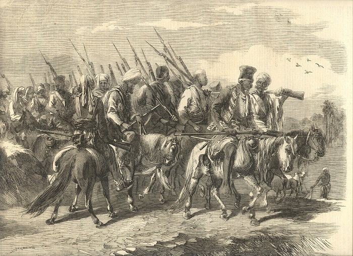 Photo Credit https://www.wikiwand.com/simple/Indian_Rebellion_of_1857