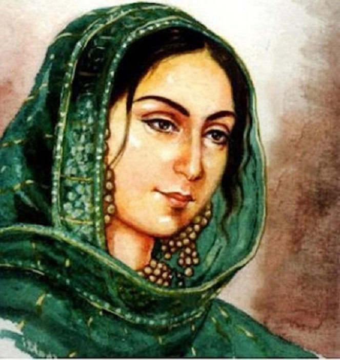 Photo Credit http://muslimmirror.com/eng/freedom-fighter-begum-hazrat-mahal-remembered-but-indifferently/