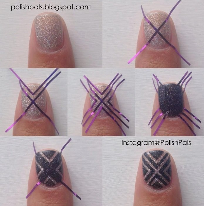 How To Do Easy Nail Designs Best Nails Beautiful Easy Nail Art Ideas To.