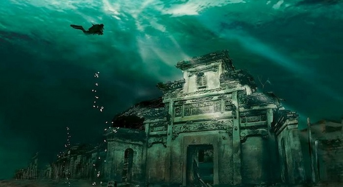 Photo Credit https://canejason.wordpress.com/2013/12/28/underwater-lion-city-in-shicheng-china/