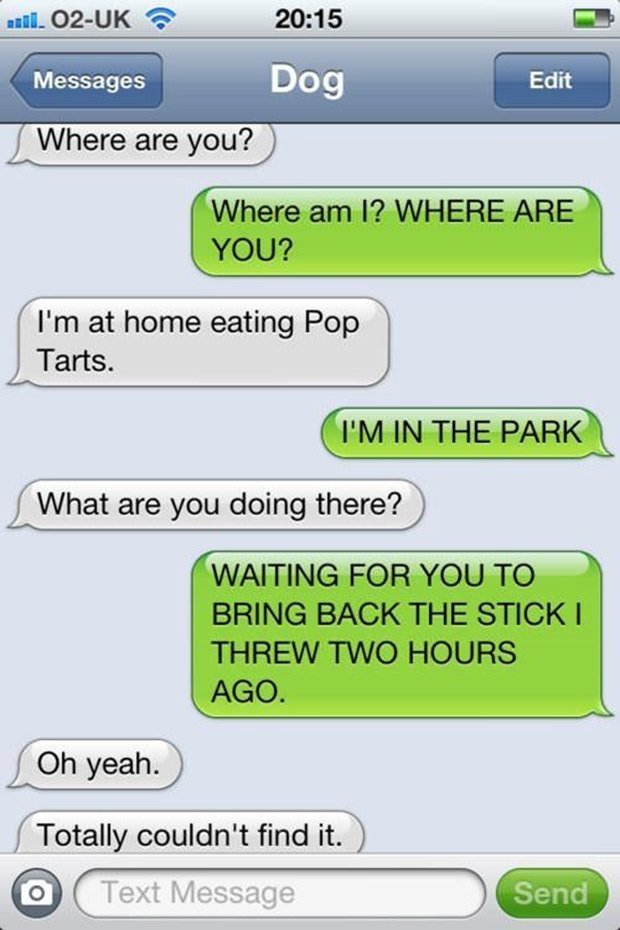 Photo Credit: http://justsomething.co/the-35-funniest-text-messages-from-dogs/