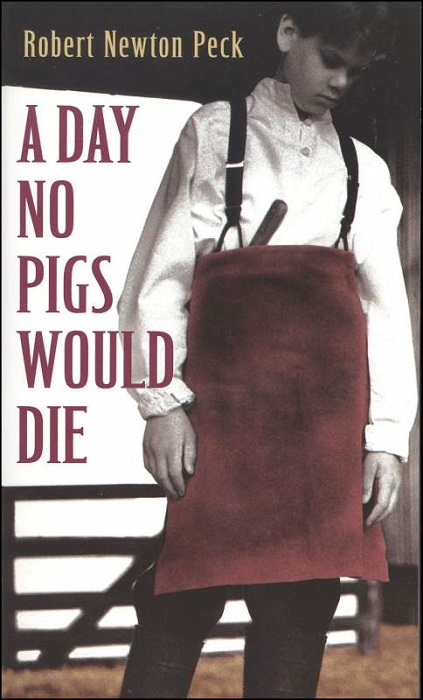 Photo Credit https://www.rainbowresource.com/proddtl.php?id=019897&subject=Reading%2FLiterature/6&category=Day+No+Pigs+Would+Die/1143