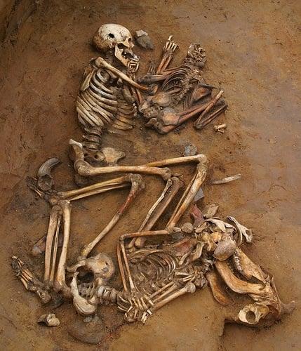 Photo Credit http://scienceblogs.com/aardvarchaeology/2013/06/10/900-years-of-human-sacrifice-in-kent/