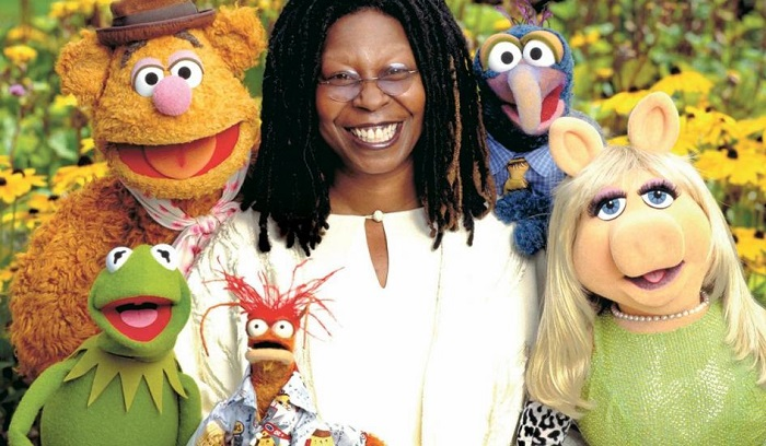Photo Credit http://www.newsweek.com/muppets-movie-whoopi-goldberg-loving-kermit-and-miss-piggy-66269