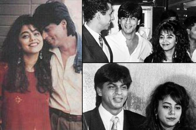 http://www.bollywoodshaadis.com/articles/magical-love-story-of-shahrukh-khan-and-gauri-2332