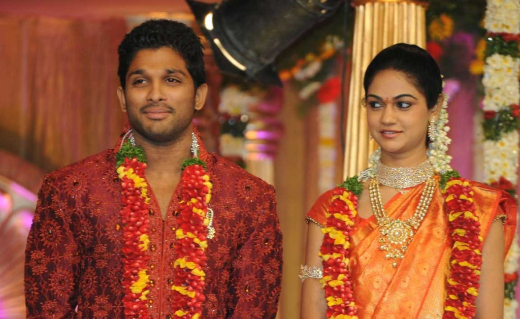 Photo Credit: http://chiruyouth.blogspot.in/2013/06/allu-arjun-reacts-on-rumours-about.html  The Wedding