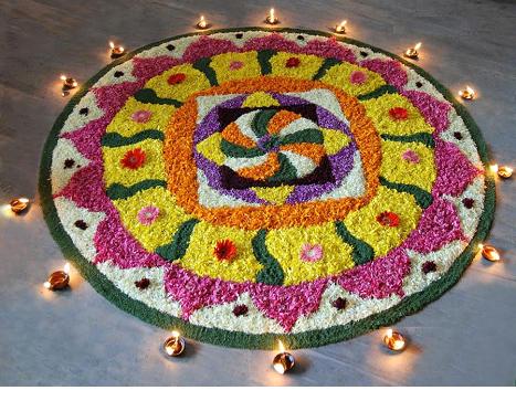 flower-pattern-Rangoli