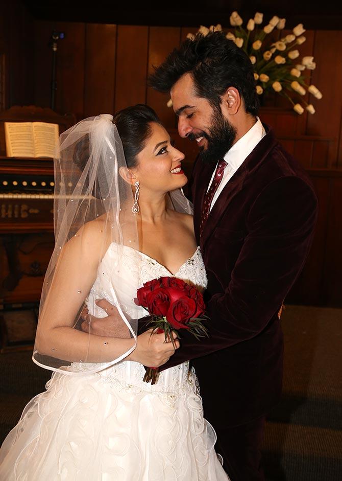 Jay Bhanushali & Mahhi Vij  Wedding