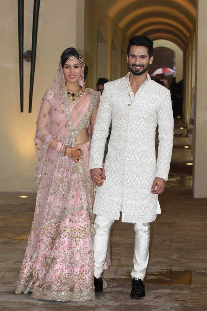 Shahid Mira Marriage