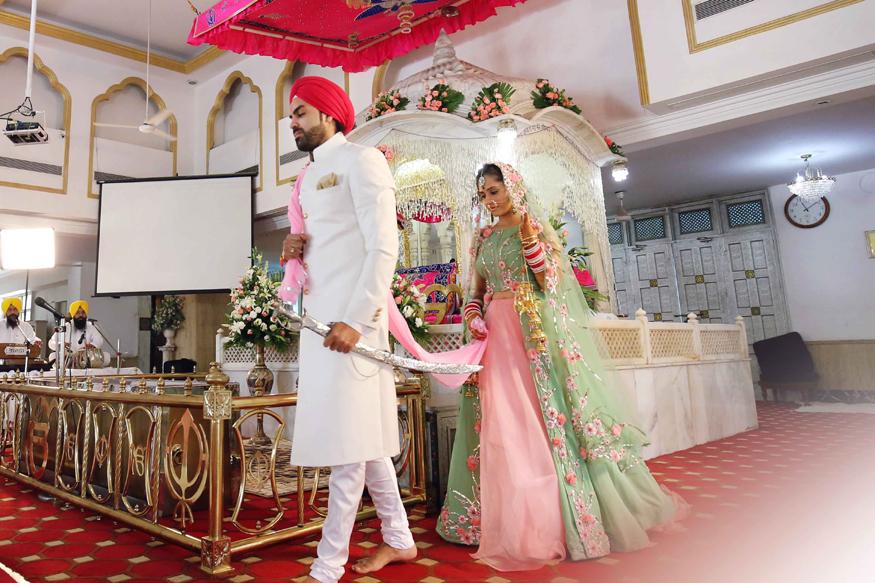 Hunar Hale & Mayank Gandhi Wedding